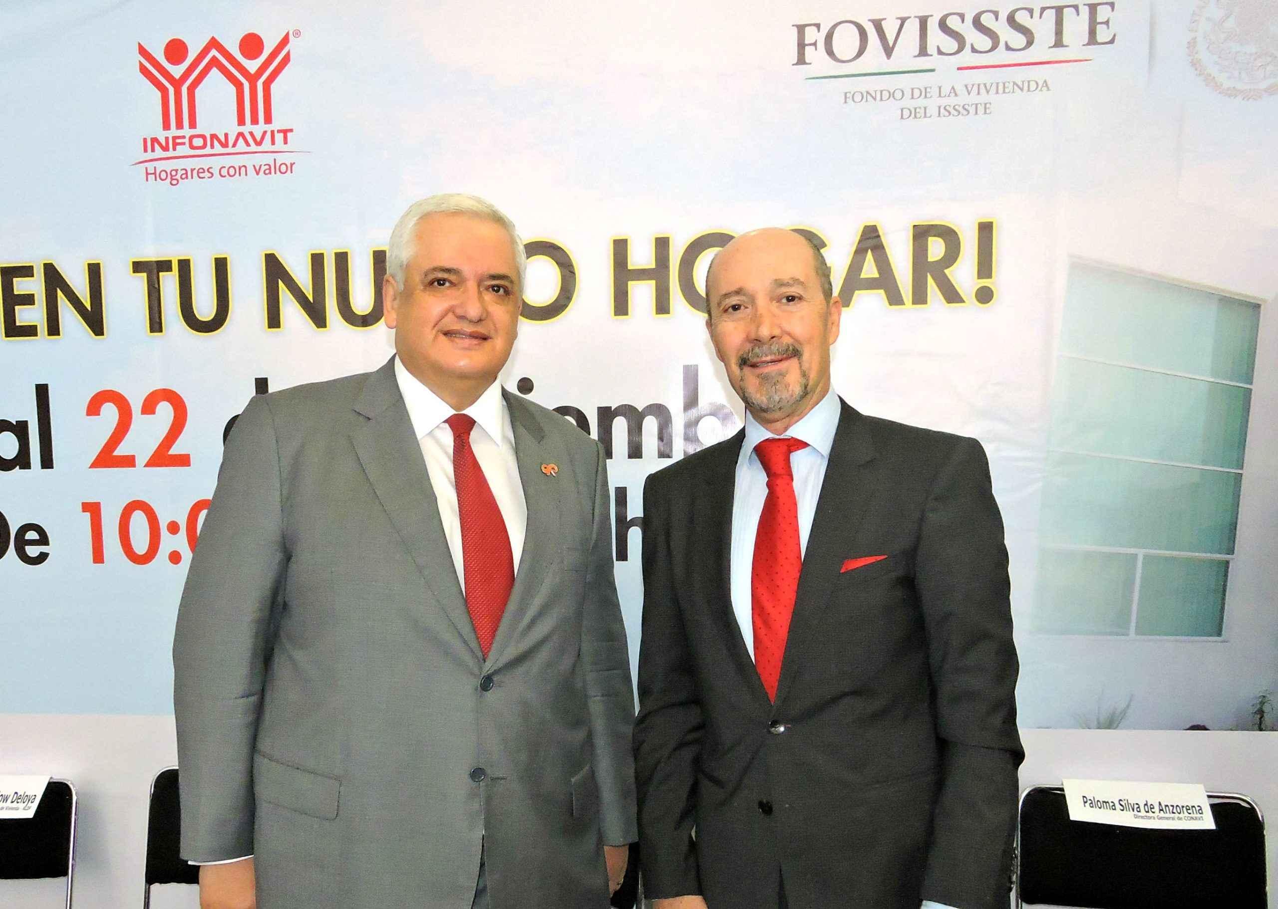 Lanzarán en 2017 crédito conjunto Fovissste-Infonavit