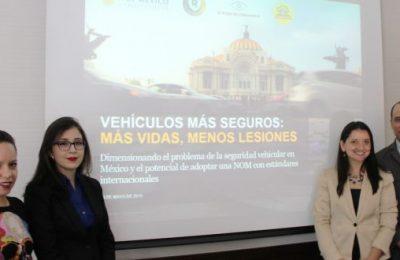México rezagado a nivel mundial en materia de Seguridad Vial
