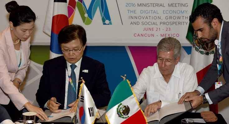 México y Corea del Sur desarrollarán proyectos de infraestructura