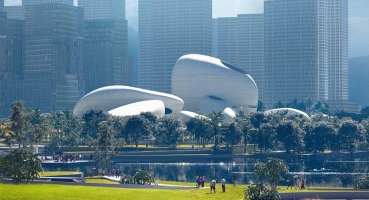 MAD Architects revela diseño del Parque Cultural de Shenzhen