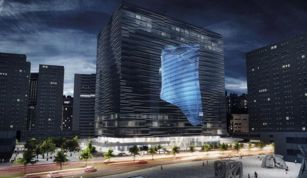 Hotel diseñado por Zaha Hadid será nuevo emblema del skyline de Dubai