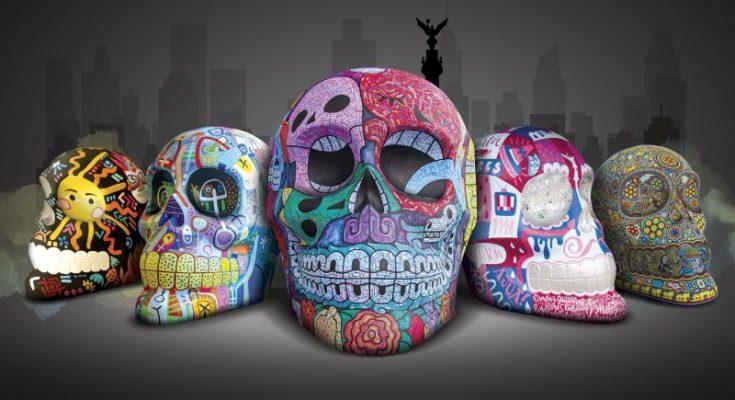 'Mexicráneos, orgullo mexicano' llega a Paseo de la Reforma