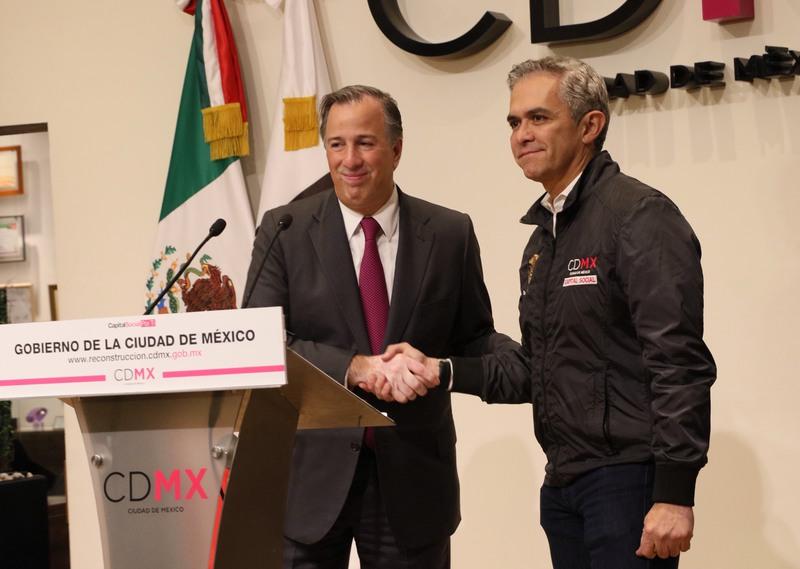 Liberará Fonden 3,371 mdp para reconstruir CDMX