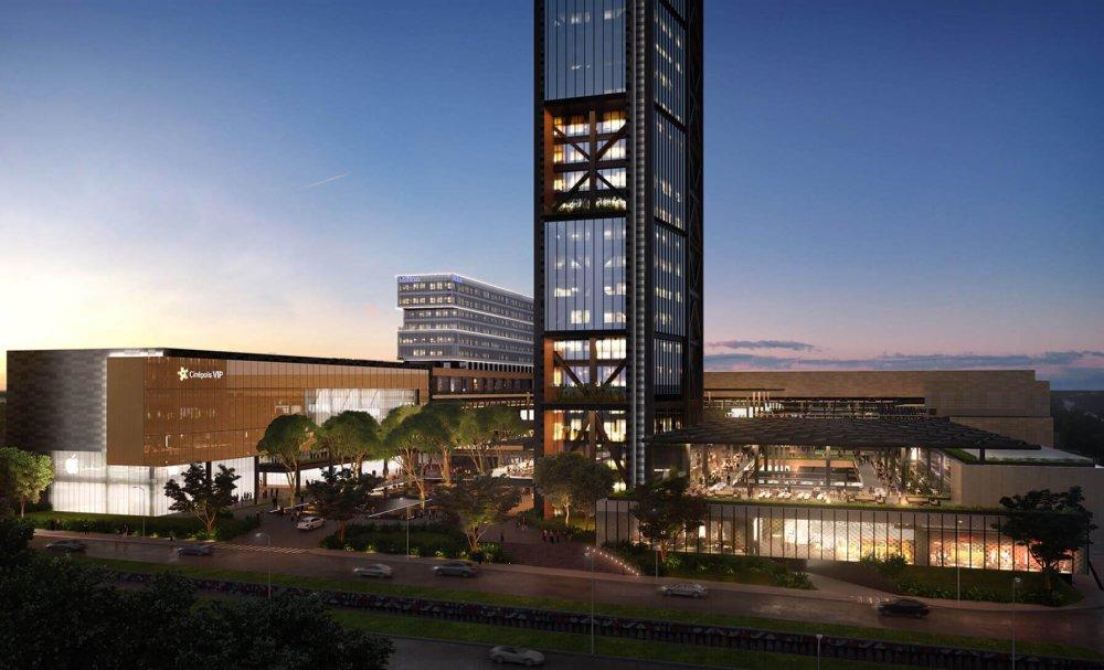 Presenta FUNO área comercial en Midtown Jalisco