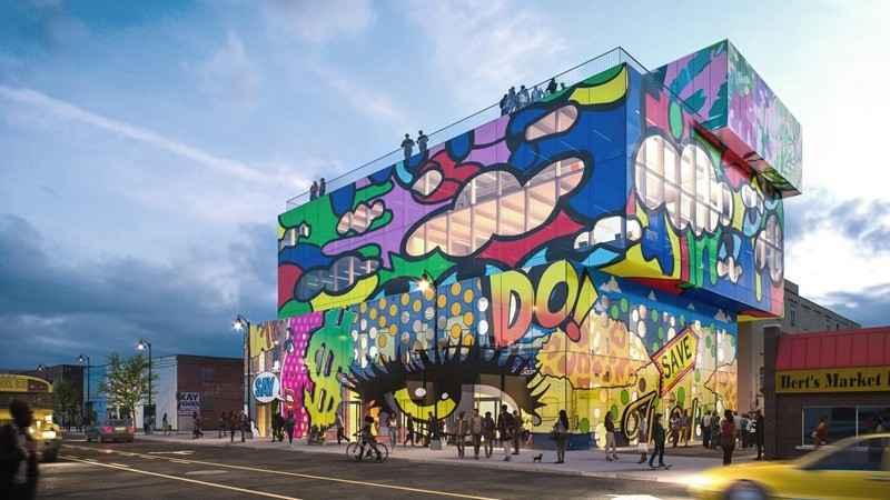 MVRDV desarrollará Glass Mural, un complejo de uso mixto en EU