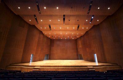 Sala de la Orquesta Filarmónica luce diseño contemporáneo