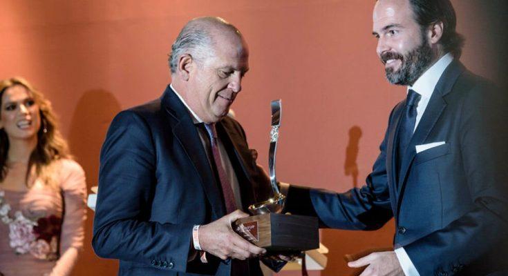 Reconocen a Javier Sordo Madaleno con el 'Premio Millesime'