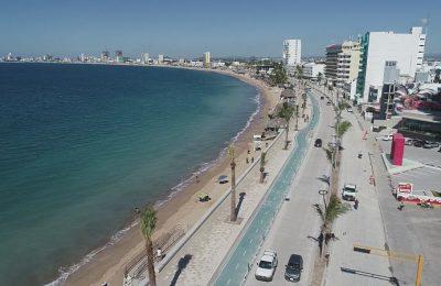 Cemex renovó con concreto hidráulico el malecón de Mazatlán