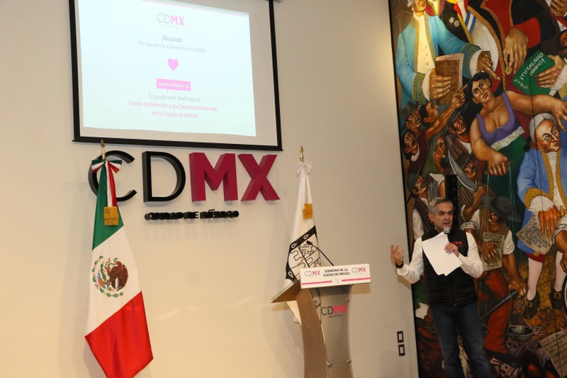 Lanza la plataforma 'Reconstrucción CDMX'