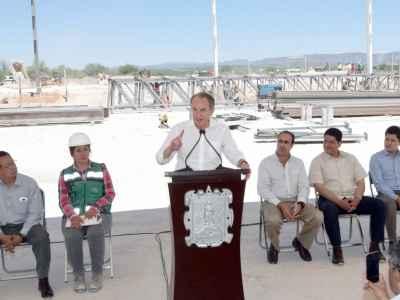 Alistan Zona Industrial del Altiplano en Matehuala
