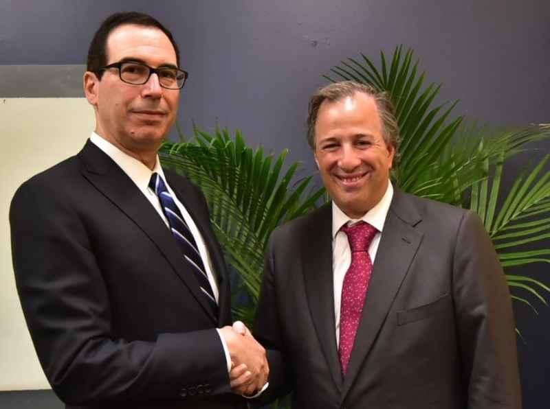 Se reúnen Meade y Mnuchin en Miami