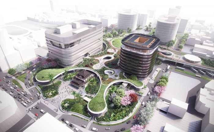 Mecanno diseña mega centro de transporte sustentable en Taiwán