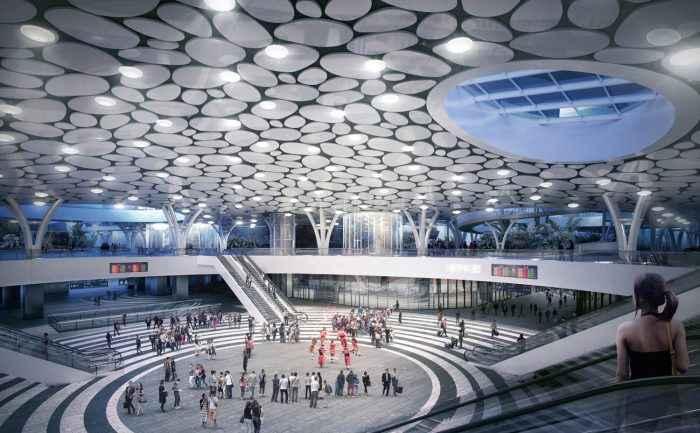 Mecanno diseña mega centro de transporte sustentable en Taiwán 4