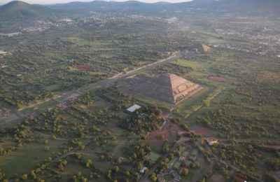 Mejoran infraestructura turística de Teotihuacán