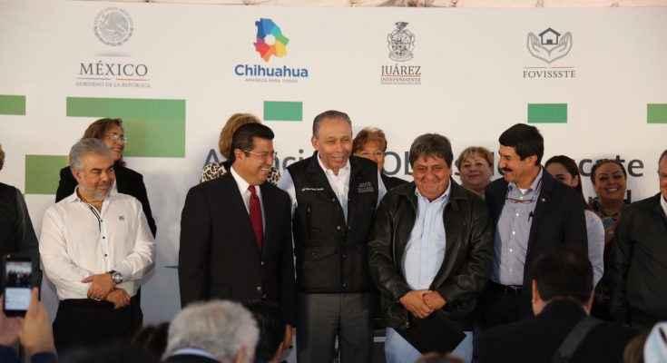 Rehabilitará Fovissste unidad habitacional en Cd. Juárez