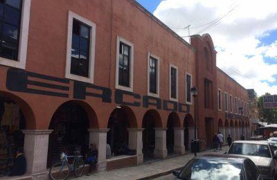 Sinfra rehabilita mercados municipales en Zacatecas