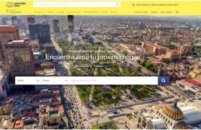 Mercado Libre apoyará a inmobiliarias en la recuperación post Covid-19