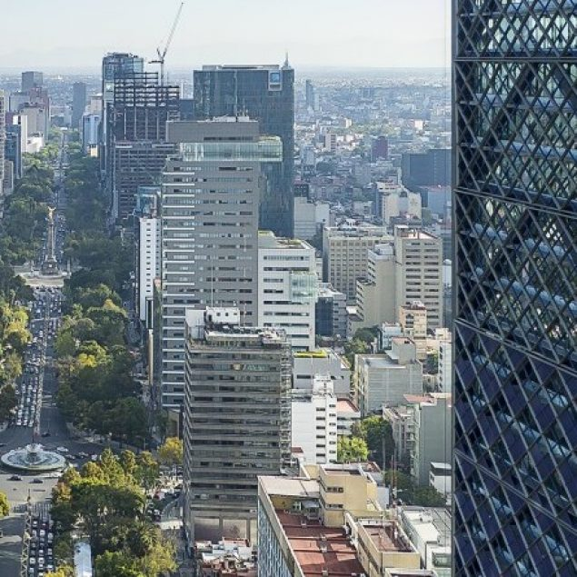 Mercado de oficinas de CDMX registra disponibilidad del 16.2%