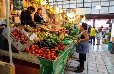 Anuncian acciones del programa Pintemos Mi Mercado en Coyoacán
