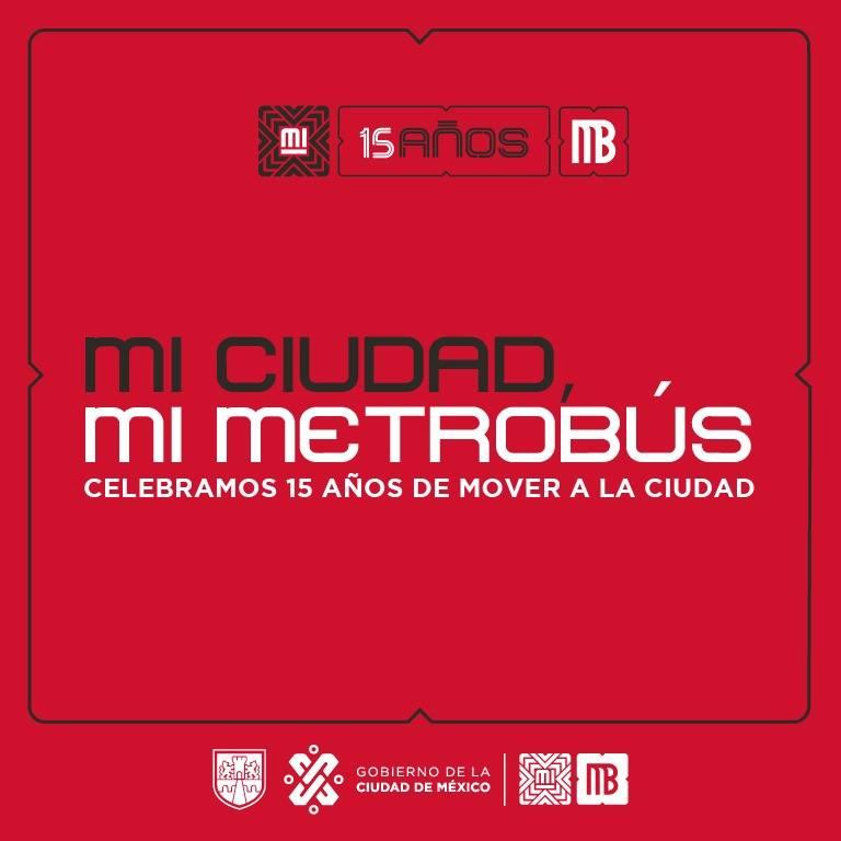Metrobús 15 años