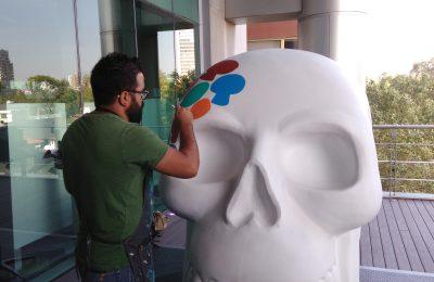 Exposición Mexicráneos llega a Paseo de la Reforma
