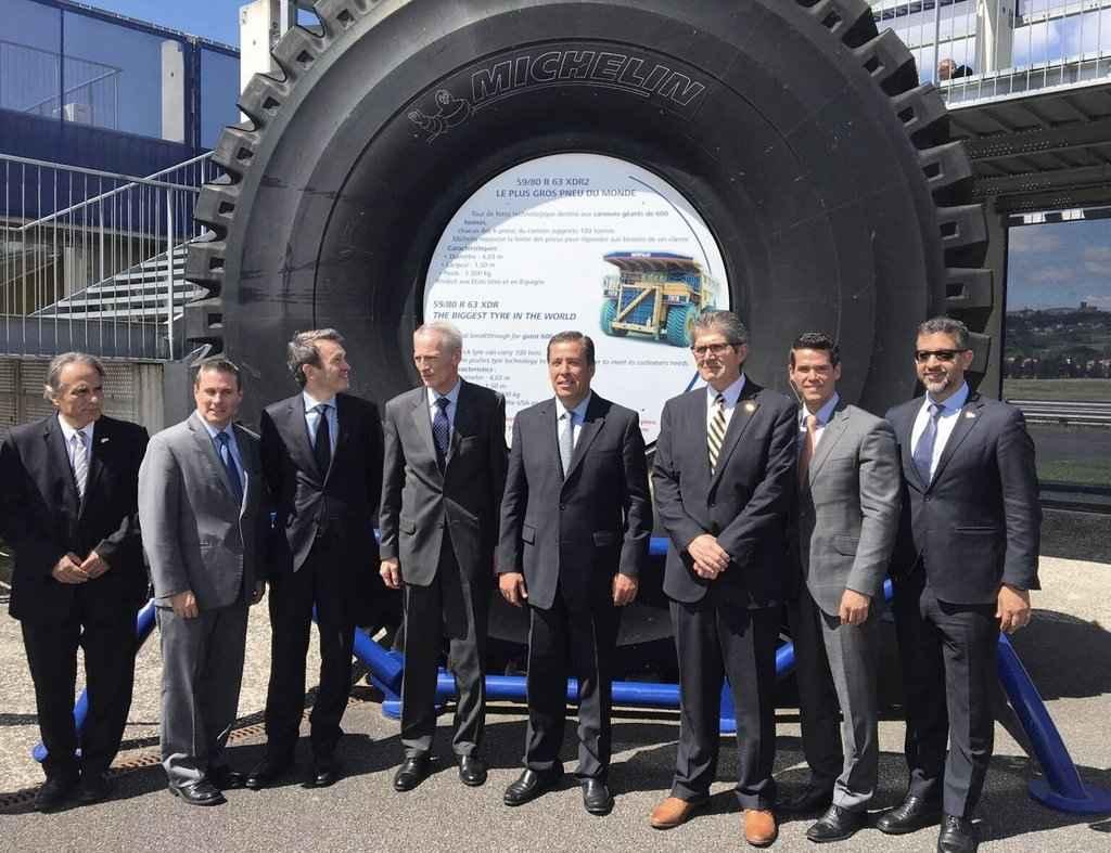 Michelin alista nueva planta en Guanajuato