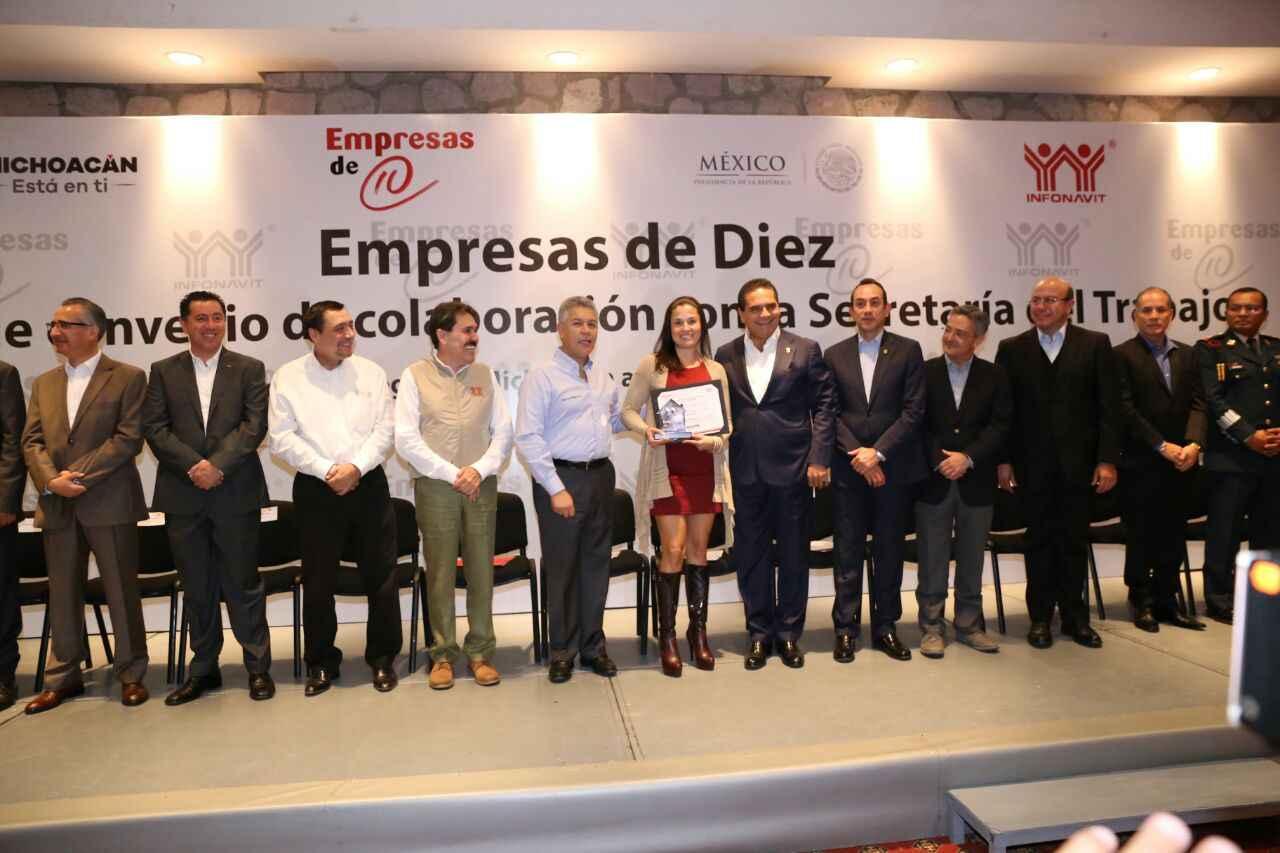 Firma Infonavit y gobierno Michoacán convenio de colaboración