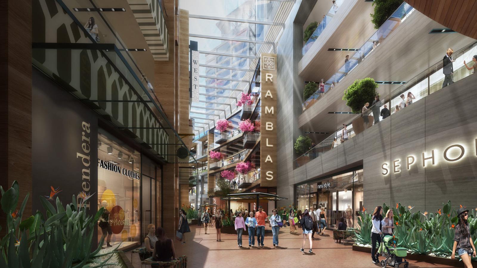 Falta incrementar el desarrollo de centros comerciales en México