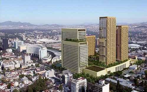 Finaliza construcción de dos torres del complejo de usos mixtos Miyana