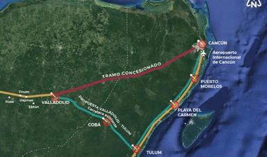 Modificación en ruta del Tren Maya permitirá ahorrar 5,500 mdp