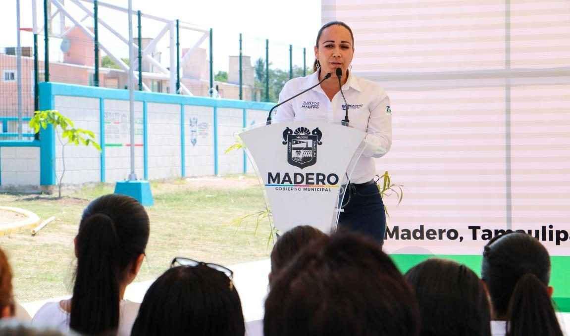 Inauguran Parque 18 de Marzo en Ciudad Madero