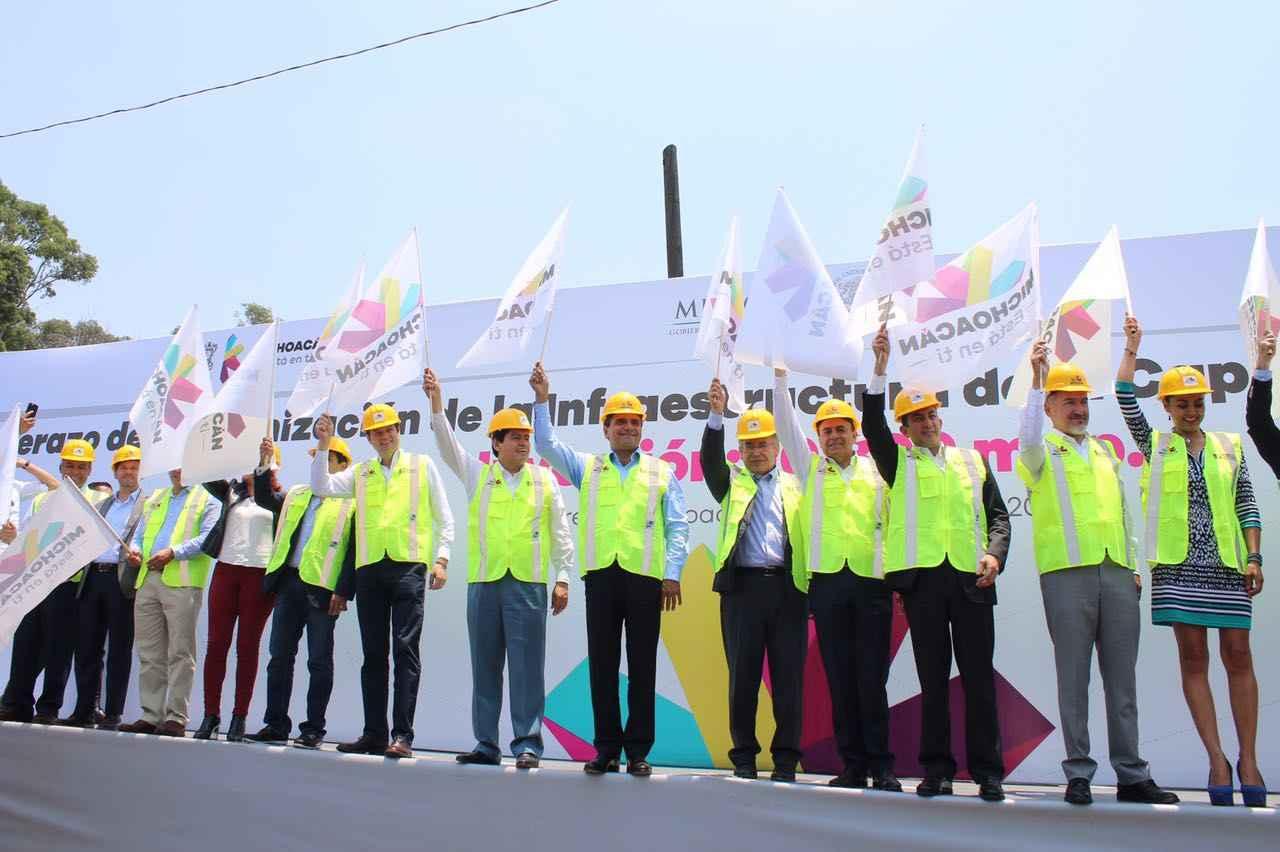 Morelia alista inversión histórica en infraestructura