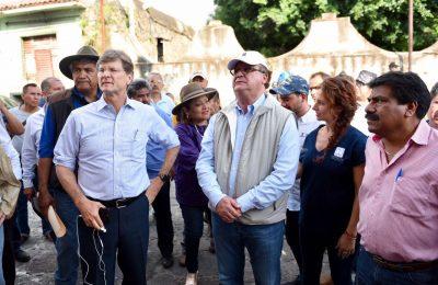 Morelos alista reconstrucción del patrimonio histórico
