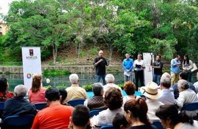 Rehabilitan Parque Barranca Chapultepec en Morelos