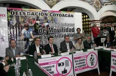 Buscan mejorar movilidad en Coyoacán
