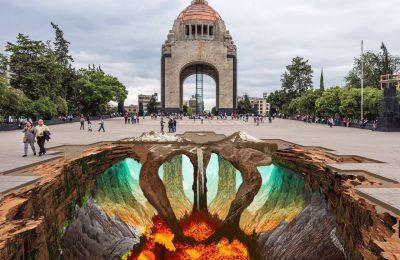 Arte urbano de Edgar Mueller será plasmado en la CDMX
