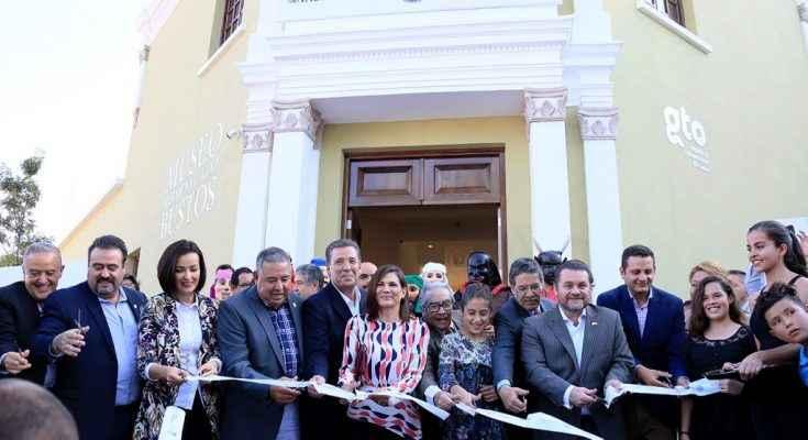 Inauguran el Museo Hermenegildo Bustos en Guanajuato