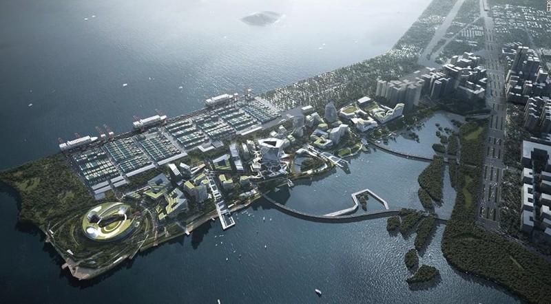 NBBJ y Tencet desarrollarán Net City, nueva ciudad sostenible en China