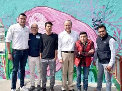 Inician programa Enchúlame tu Barrio en SLP