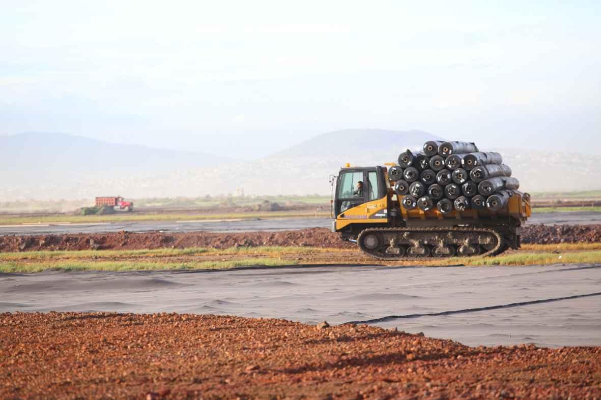 En tiempo, construcción del Nuevo Aeropuerto Internacional de la CDMX