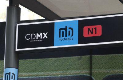 Corredor Nochebús Insurgentes mejora calidad en el servicio de transporte