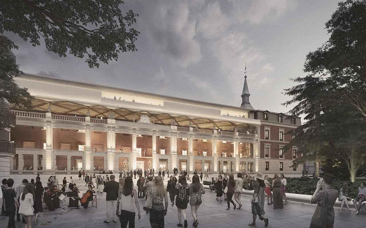 Norman Foster a cargo de la ampliación del Museo del Prado