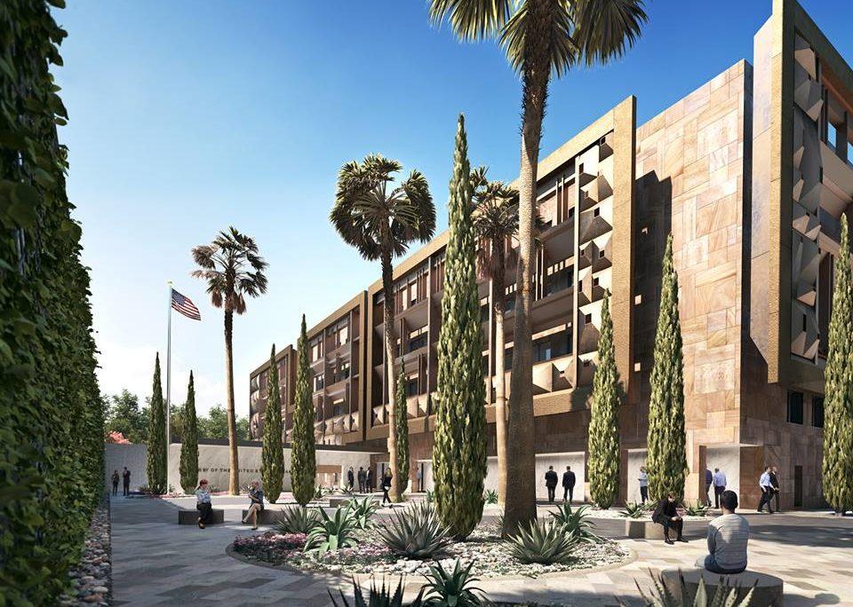 Nueva Embajada de Estados Unidos en la Ciudad de México