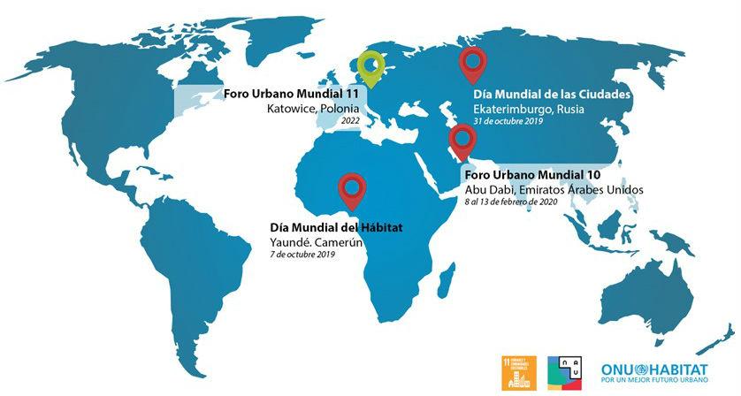 ONU-Habitat anuncia eventos con motivo de 'Octubre Urbano'