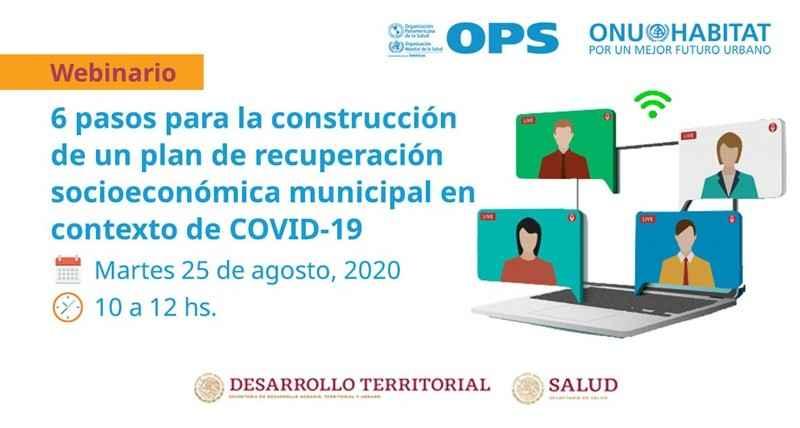 ONU-Hábitat impulsar la recuperación municipal post Covid-19