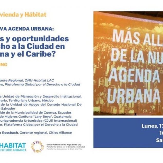 ONU-Habitat invita al IV Foro LAC de Vivienda y Hábitat