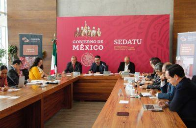 Dan seguimiento a reconstrucción de escuelas en Oaxaca