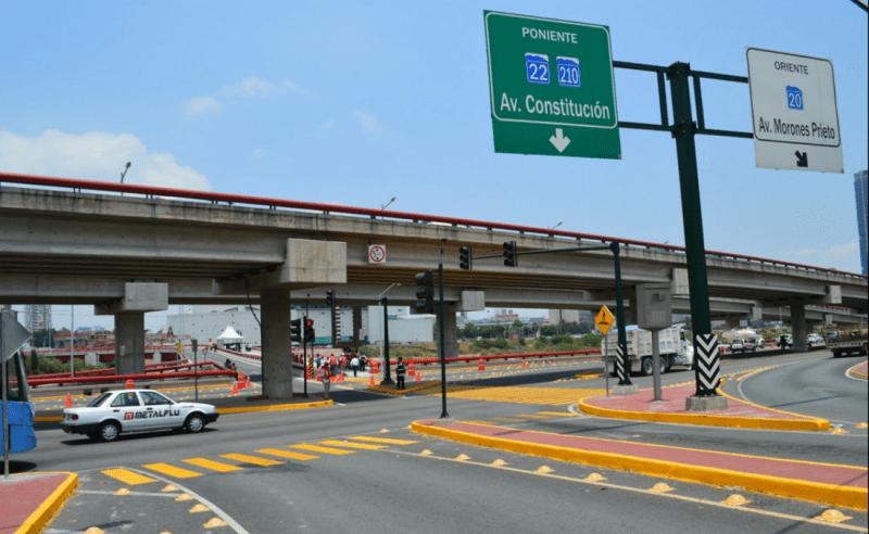Monterrey estrena obras de infraestructura vial portal for Arquitectura y diseno monterrey