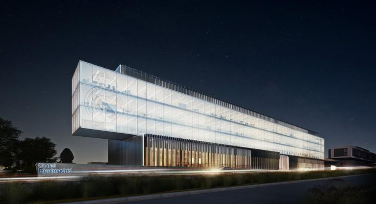 Dise a arquitecto espa ol nuevas oficinas del real madrid for Telefono oficinas real madrid