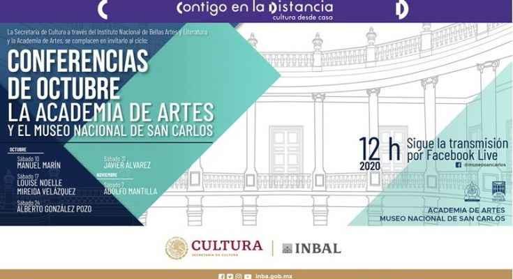 Ofrece MNSC ciclo de conferencias sobre el arte y la arquitectura